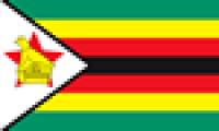 Länderflagge Zimbabwe